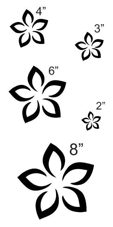 375x754 Plumeria Flower