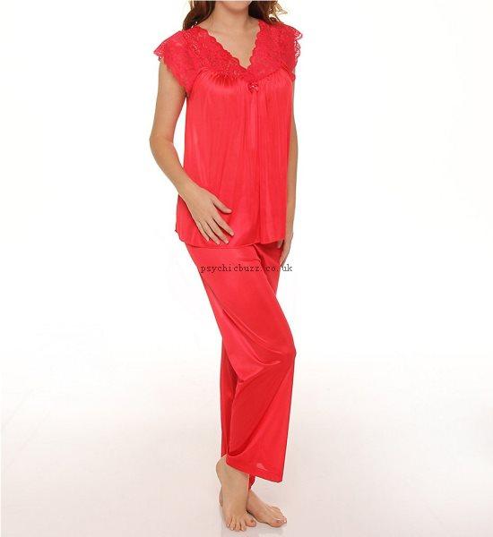 550x600 Shadowline Silhouette Pajama 76737 Shadowline Sleepwear Plus