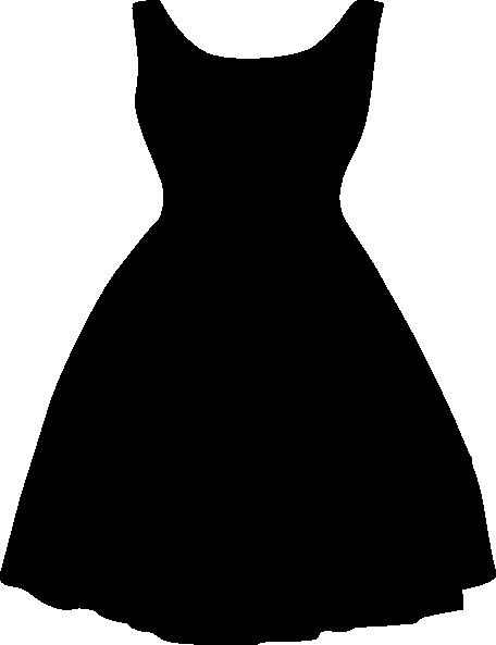 456x593 Archivoclinico Little Black Dress Silhouette Images