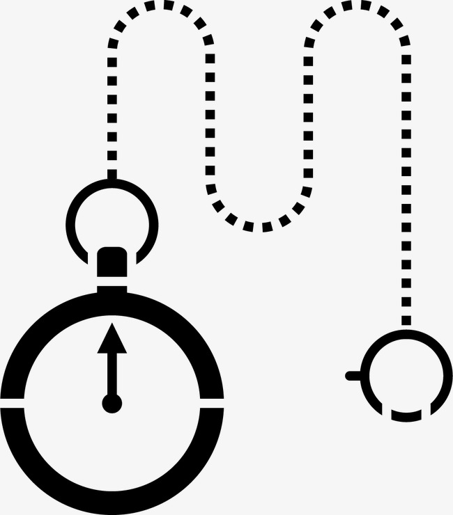 650x740 Silhouette Pocket Watch, Pocket Watch, Watch, Sketch Png