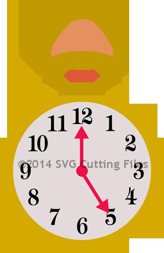 325x500 Pocket Watch Entertainment Pocket Watch, Svg File