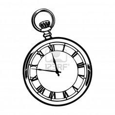 236x236 Pocket Watch Clipart Man