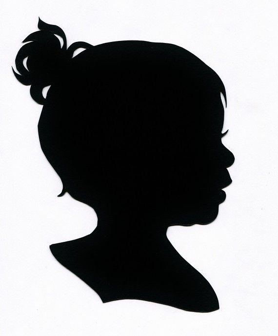 570x689 17 Best Silhouette Portraits Images On Silhouette