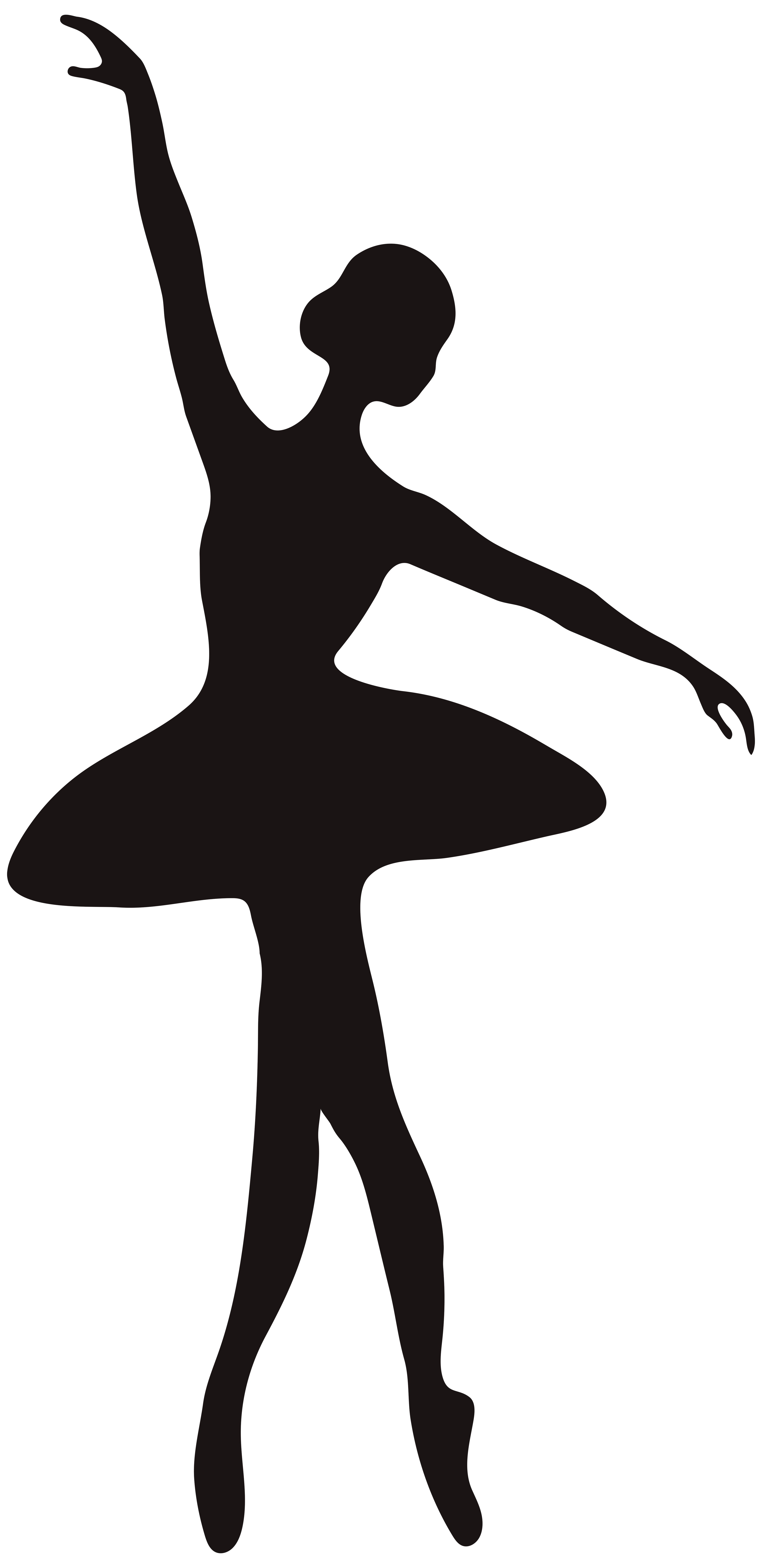 3890x8000 Hanging Ballet Shoes Silhouette
