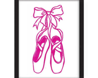 Pointe Shoes Silhouette at GetDrawings