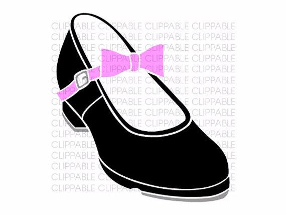 570x428 Tap Dance Shoes Clipart Silhouette Clip Art Black Pointe Shoe