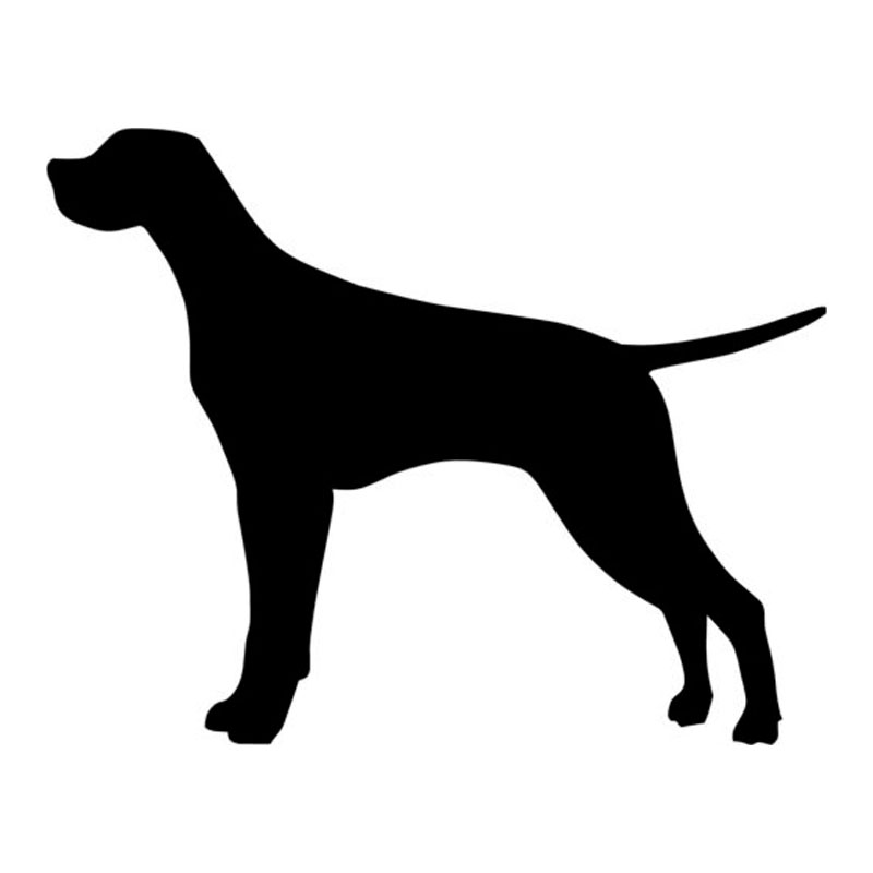 Pointing Dog Silhouette