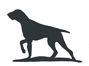 300x224 Pointer Dog Silhouette In Mild Steel, For Weather Vanes