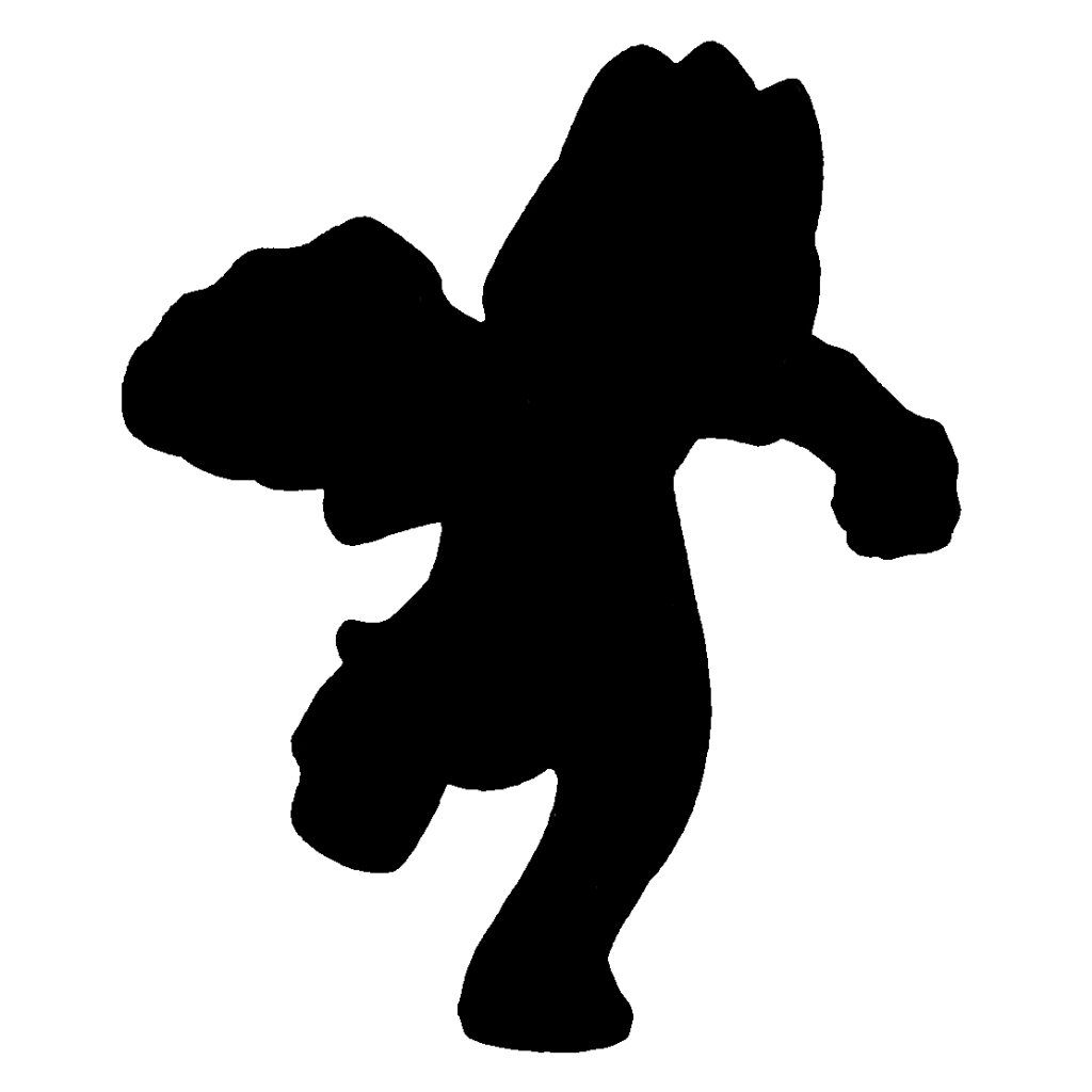 1024x1024 Can You Identify The Based Solely On Its Silhouette