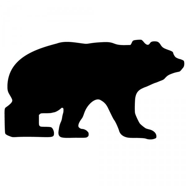 600x600 Polar Bear Silhouette Png
