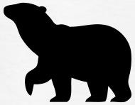 190x148 Polar Bear Silhouette By Azza1070 Spreadshirt
