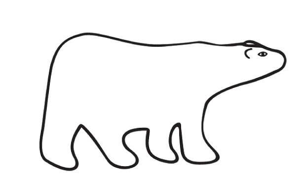 polar bear silhouette clip art at getdrawings com free for rh getdrawings com polar bear pictures clip art polar bear clipart free