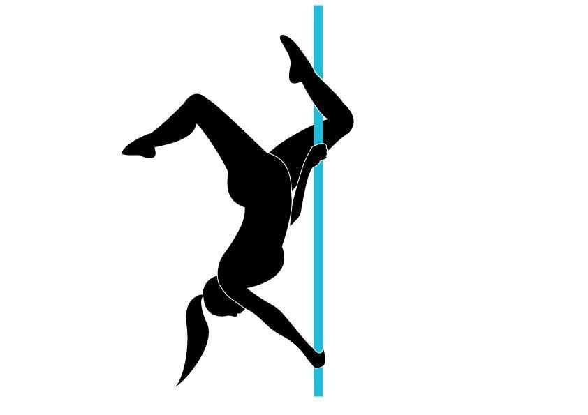 Pole Dance Silhouette