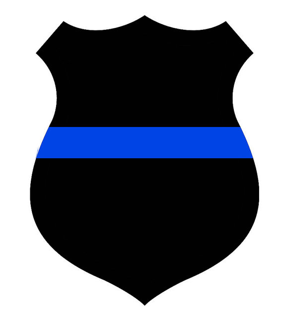 570x665 Stickers For Police Thin Blue Line Stickers