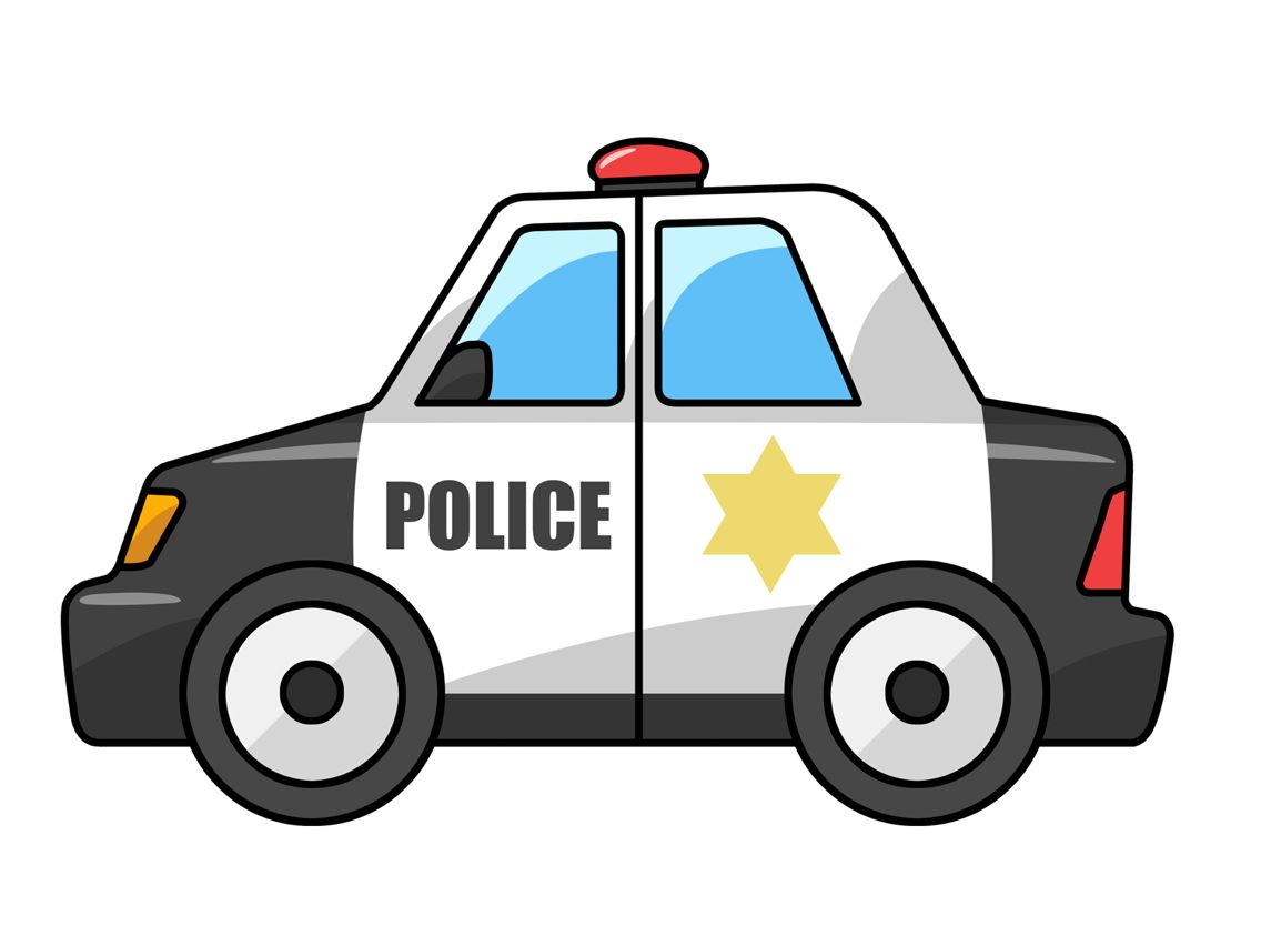 1136x852 Support Our Police Ceramic Ornament Police Cars, Clip Art