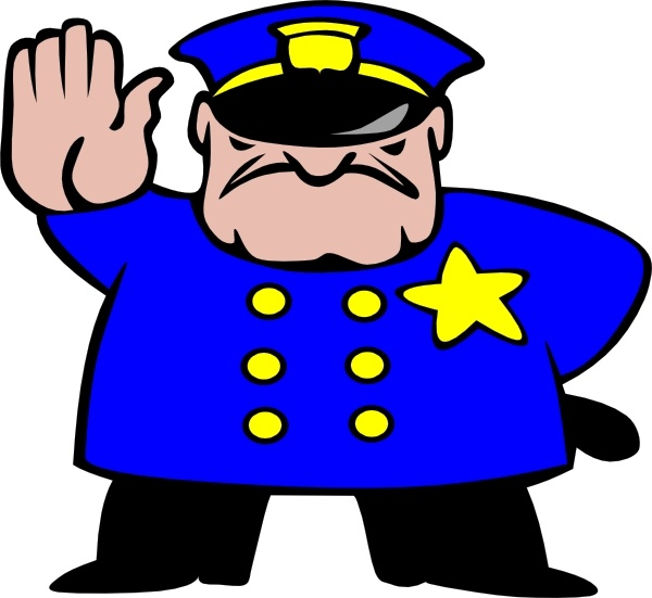 600x551 Police Man Clip Art Free Vector In Open Office Drawing Svg ( Svg