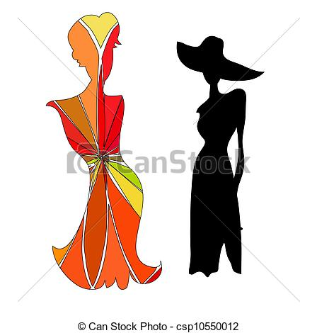 448x470 Silhouette Female Vector Clipart Royalty Free. 101,607 Silhouette