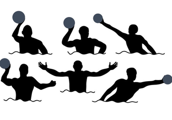 352x247 Water Polo Vector Free Vector Download 370023 Cannypic