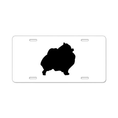 460x460 Pomeranian Aluminum License Plates