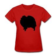 190x190 Shop Dog Silhouette Pomeranian T Shirts Online Spreadshirt