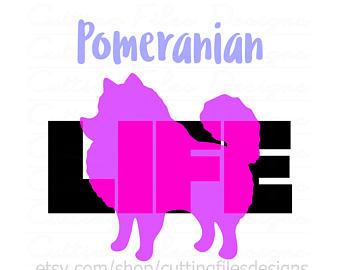340x270 Pomeranian Svg Etsy