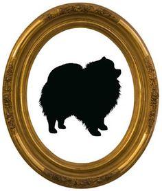 236x278 Pomeranian Silhouette