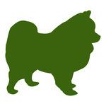 150x150 German Toy Pomeranian Spitz Dog Silhouette Vector Image