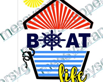 340x270 Boat Life Svg Etsy