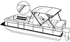 236x143 How to draw a pontoon boat Pontoon Boat Clipart 121710 Arts