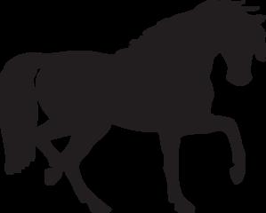 299x240 Horse Silhouette Clip Art