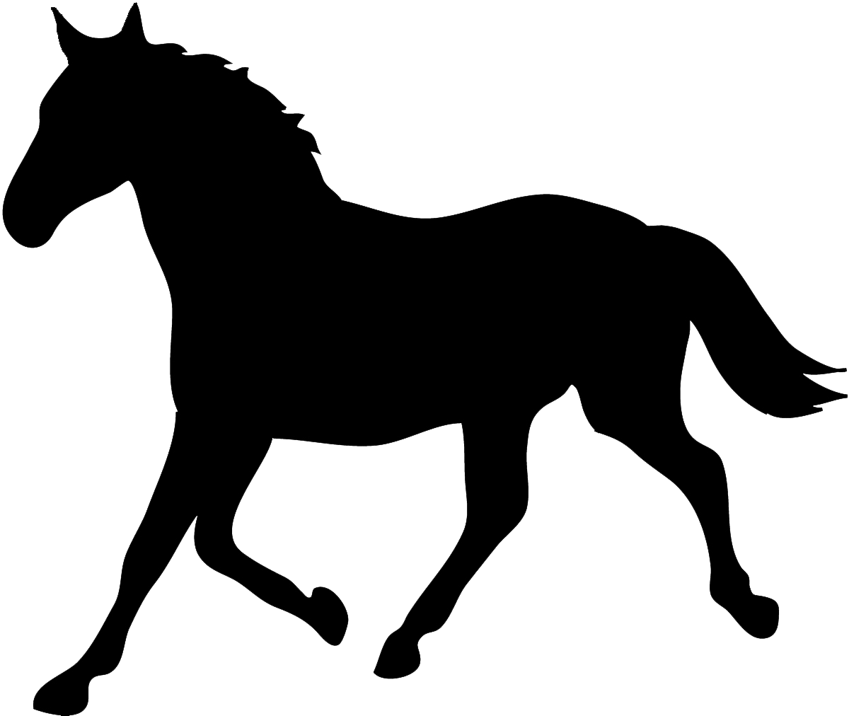 1200x1012 Tennessee Walking Horse Silhouette Equestrian Horse Amp Hound Clip