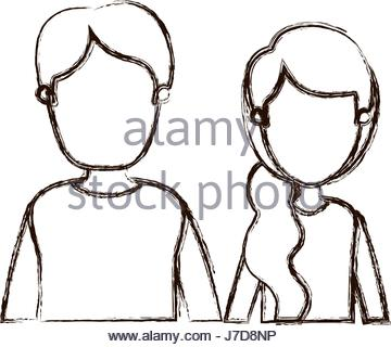 360x320 Blurred Silhouette Half Body Man With Beard Without Face And Bow