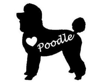 340x270 Poodle Silhouette Etsy