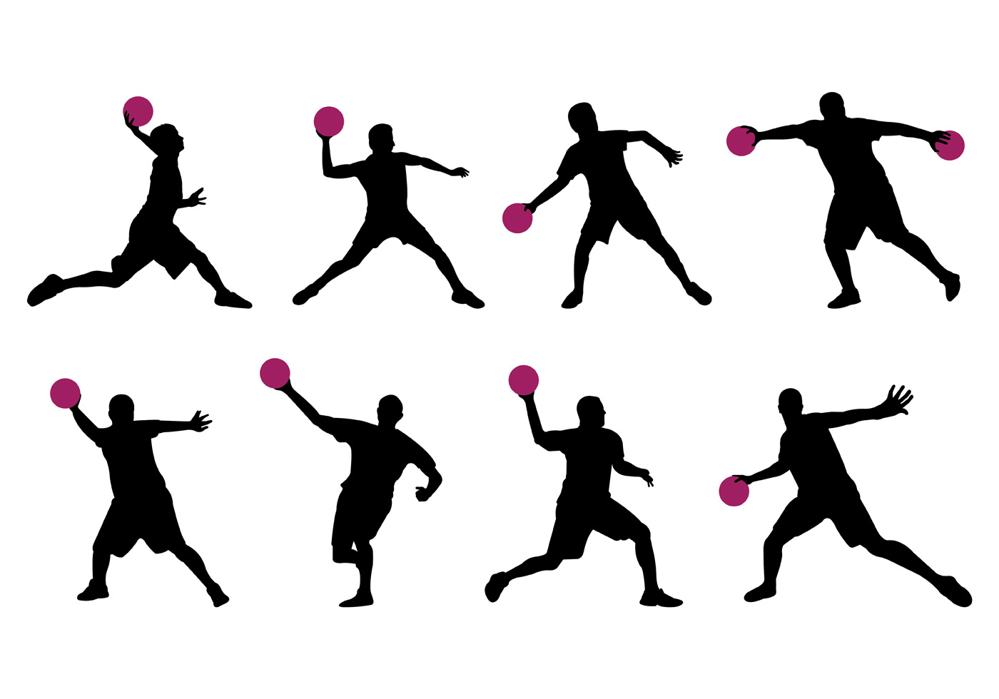 1400x980 Dodge Ball Free Vector Art