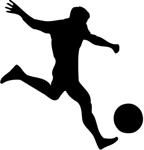 481x500 Free Soccer Silhouettes, Hanslodge Clip Art Collection