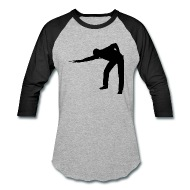 190x190 Pool Player Silhouette By Kwg2200 Spreadshirt