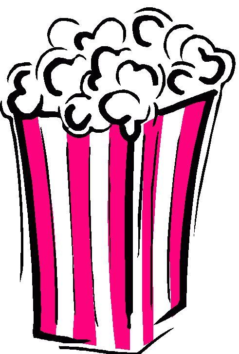 Popcorn Silhouette