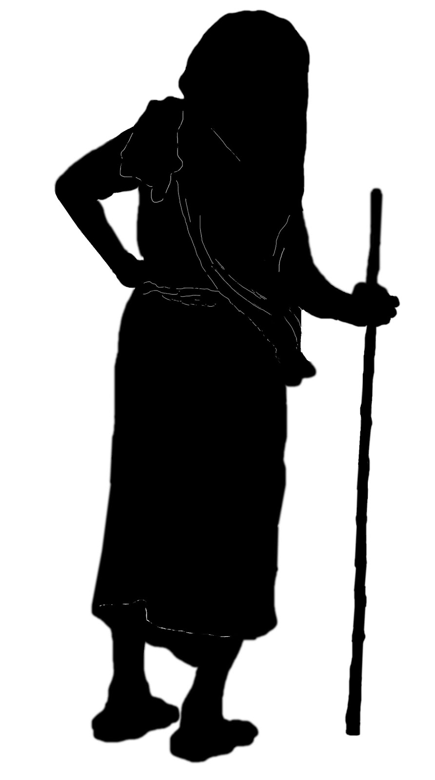 892x1600 Stock Pictures Old Woman Silhouettes