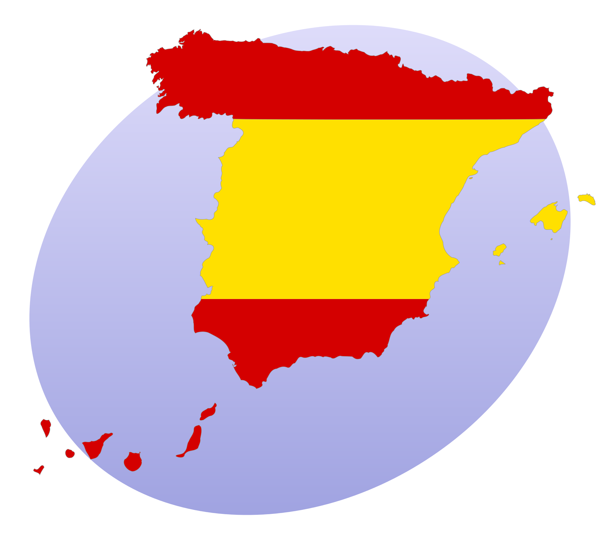 2000x1800 Filespain Portal Silhouette And Flag.svg