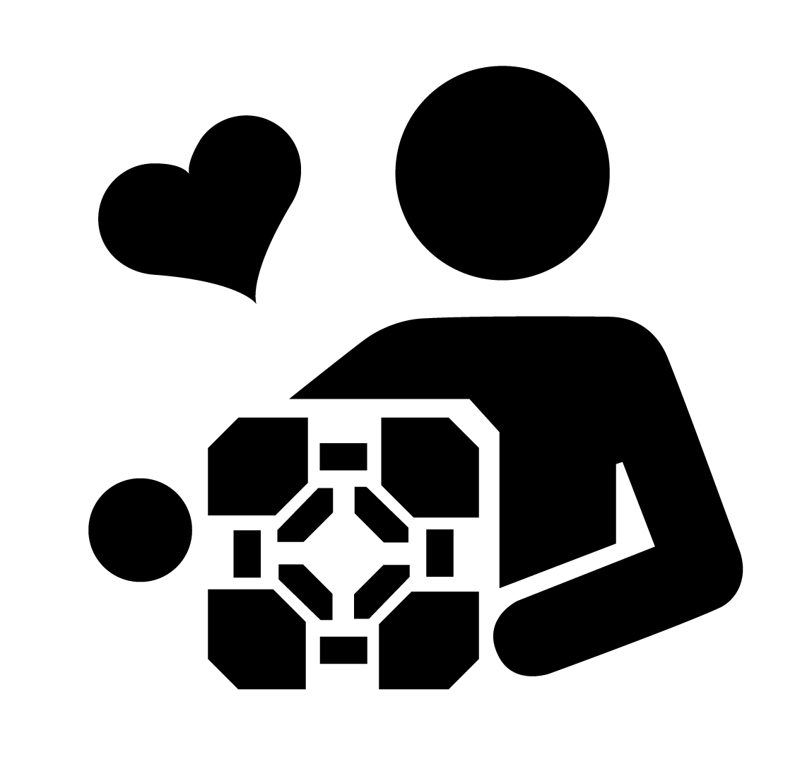 1125x1071 I Love You, Weighted Companion Cube Stencil Template Stencil