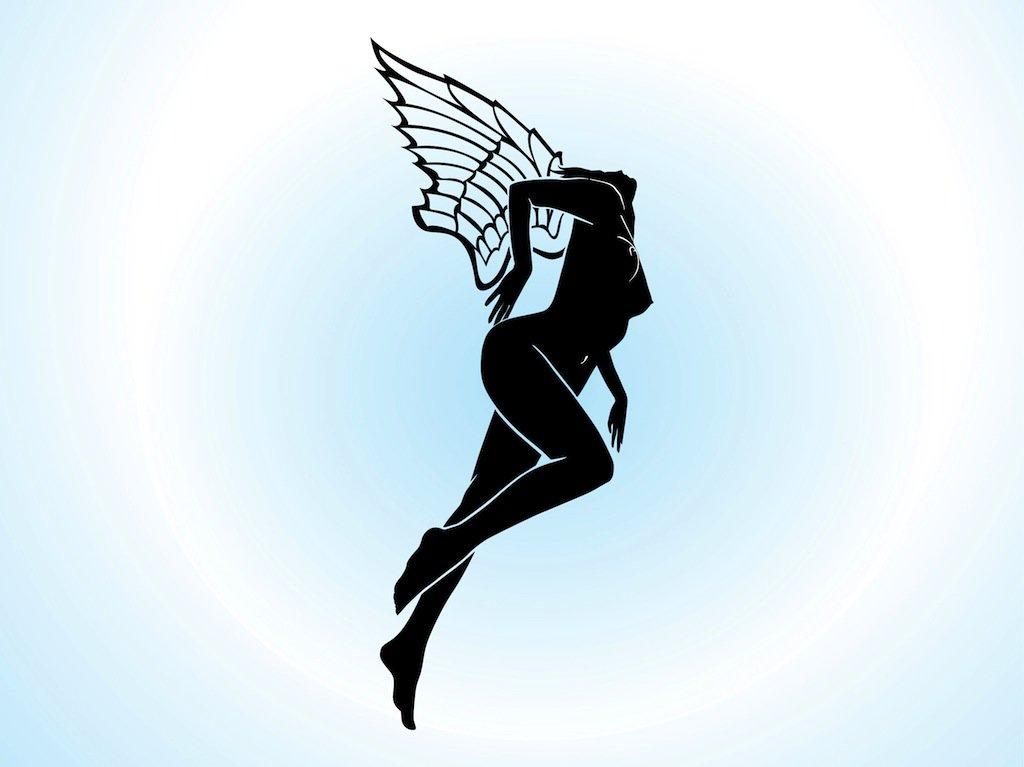 1024x767 Fairy Silhouette Vector Art Amp Graphics