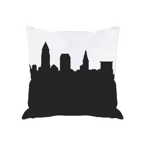 300x300 Portland, Oregon Skyline Silhouette Cityscape Purses And Pillows