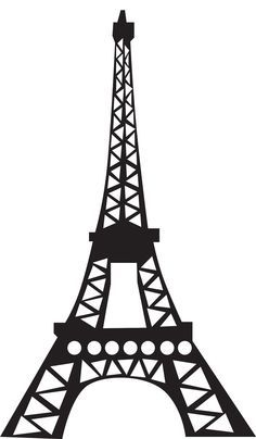 236x404 Eiffel Tower Silhouette Clipart Free Stock Photo