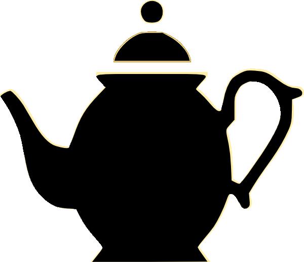 600x517 High Tea, Beautiful Silhouette In A Tea Pot ~ Tea Time