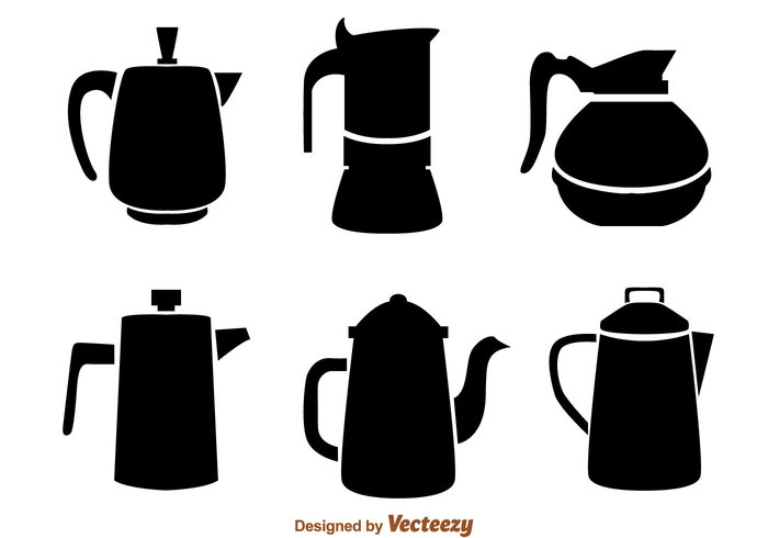 700x490 Coffee Pot Black Icons 146267