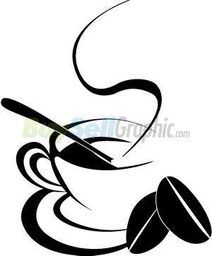 300x361 Coffee Pot Silhouette Clip Art Coffee Cup Silhouette Vector