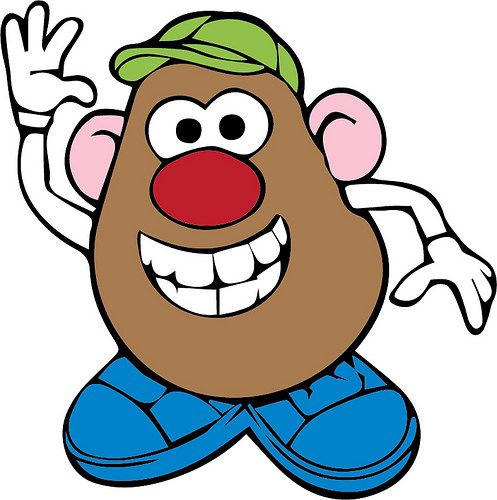 497x500 Mr Potato Head Free Svg Files Downloaded Mr Potato