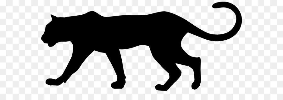 900x320 Cougar Black Panther Leopard Clip Art
