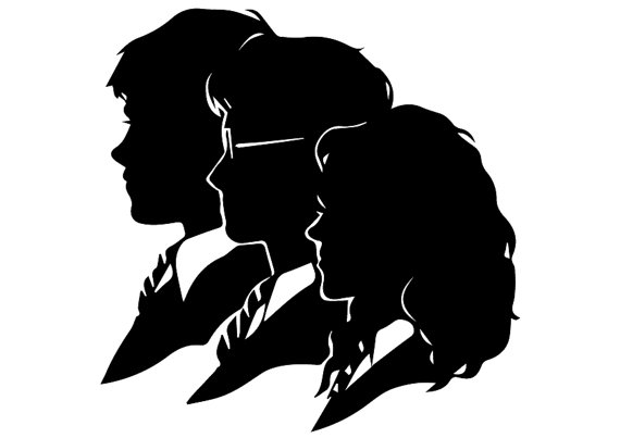 570x403 Harry Potter Svg Harry Potter Eps Harry Potter Silhouette