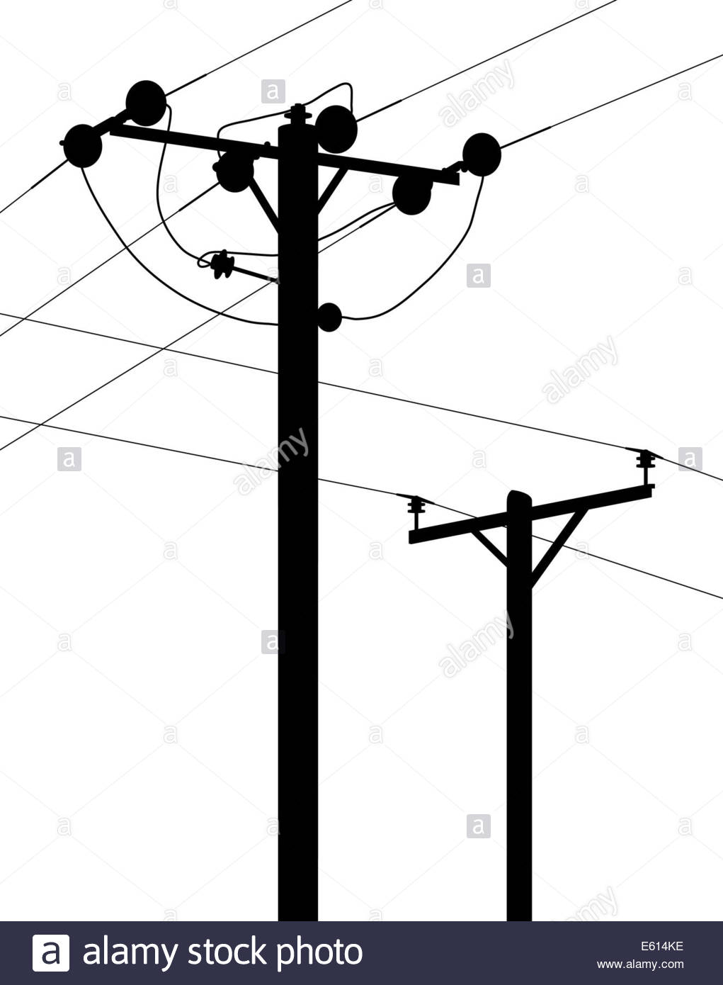 1021x1390 Wooden Telephone Pole Power Lines Stock Photos Amp Wooden Telephone